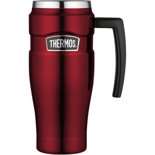 Thermos Stainless Steel King Travel Mug - Red (470 ml) (Thermos 101813)