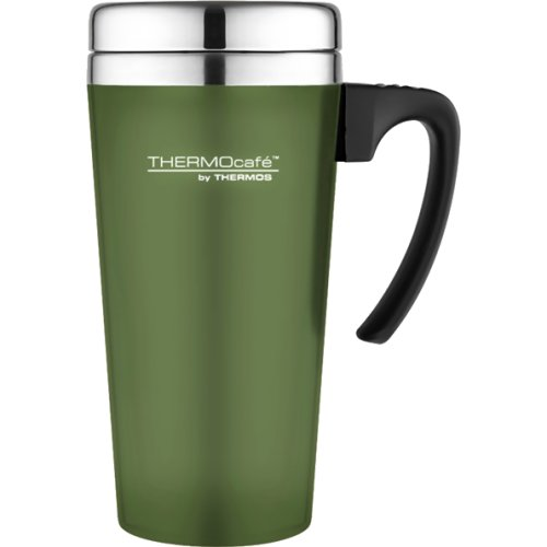 Thermos Thermocafe Soft Touch Travel Mug - 420 ml (Moss Green) (Thermos 170834)