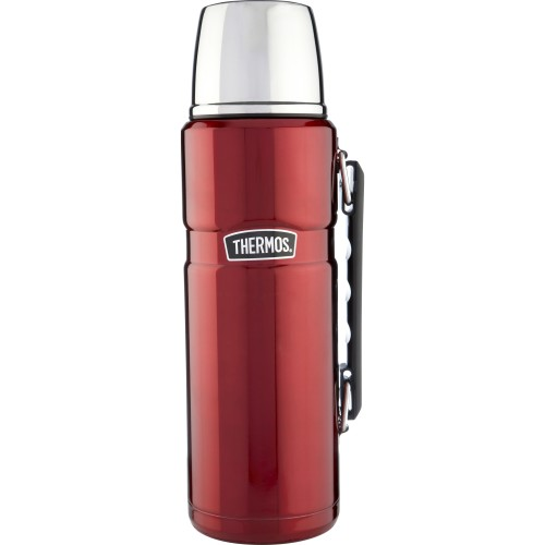 Thermos Stainless Steel King Flask - Red (1200 ml) (Thermos 184803)