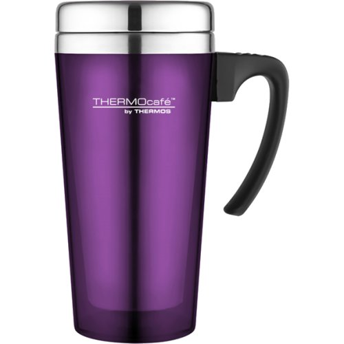 Thermos Thermocafe Translucent Travel Mug - Purple (420 ml) (Thermos 185414)