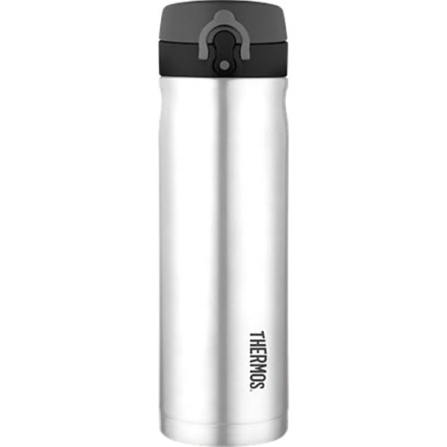 Thermos Stainless Steel Direct Drink Bottle (470 ml) - Silver (Thermos 186400)