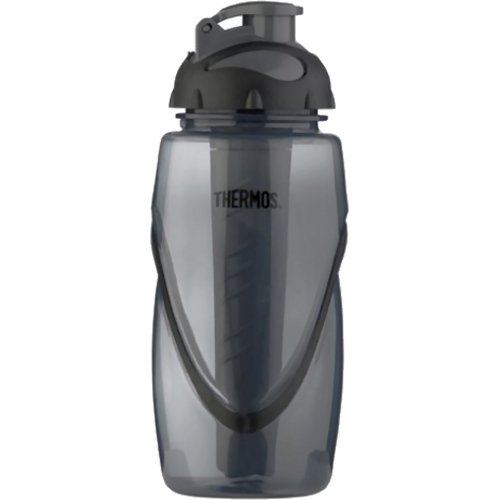 Thermos Hydro Active Bottle with Ice Tube - 450 ml (Grey) (Thermos 187630)