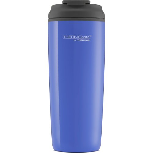 Thermos Thermocafe Traveller Flip Lid Travel Tumber - 450 ml (Ocean Blue) (Thermos 192545)